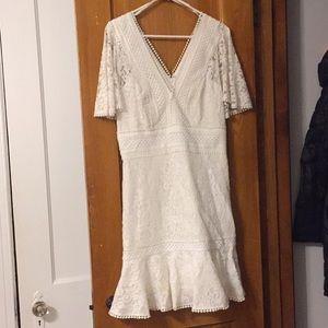 White Dress - Eliza J - Size 12